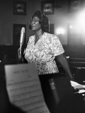 Mahalia Jackson Reproduction photographique par Isaac Sutton