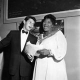 Mahalia Jackson, Eddie Fisher - 1955 Reproduction photographique par Isaac Sutton