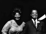 Mahalia Jackson 1968 Fotografie-Druck von Norman Hunter