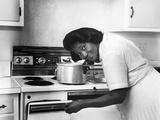 Mahalia Jackson Fotografie-Druck von Isaac Sutton