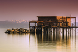 Tahoe Pier Photographic Print by Vincent James