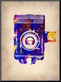 Vintage Camera 2 Impressão montada por  NaxArt