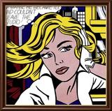 M-Maybe, ca.1965, Englisch Kunstdrucke von Roy Lichtenstein