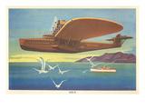 Dornier Do-X Flying Boat Affiche