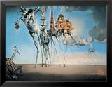 St. Antonios fristelse, ca. 1946|The Temptation of St. Anthony, c.1946 Kunst av Salvador Dalí