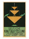 Poster for Stuttgart Art Exhibition Posters