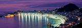 Rio de Janeiro – Nattscene fra Copacabana Beach Posters
