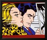 In the Car, c.1963 Poster tekijänä Roy Lichtenstein