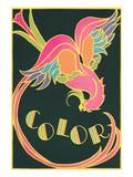 Color, Fantastic Bird Posters