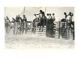 Out of the Chute, Bull Riding Art