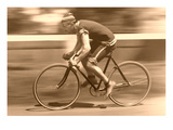 Old Time Bicycle Racer Art