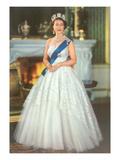 Young Queen Elizabeth II Láminas