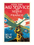 Join the Air Service and Serve in France Kunstdrucke von Jozef Paul Verrees