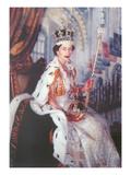 Young Queen Elizabeth II Prints