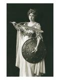 Wagnerian Warrior Heroine Posters