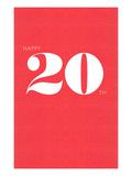 Happy 20th Láminas