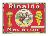 Rinaldo Macaroni Label Posters