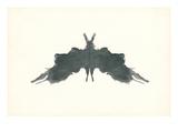 Rorschach Test in Black アート