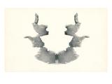 Rorschach Test in Black Julisteet