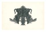 Rorschach Test in Black ポスター