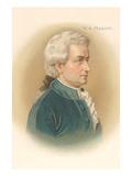 Portrait of Mozart Print