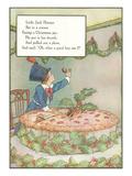 Mother Goose Rhyme, Little Jack Horner Poster