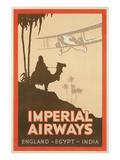 Travdel Poster for Imperial Airways Plakater