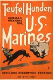 World War I Devil Dog Poster Posters