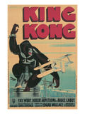 One-Sheet for King Kong Print
