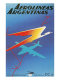 Poster for Argentine Airlines Print