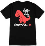 Sad T-Rex (slim fit) T-paita