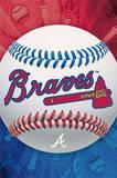 Atlanta Braves Logo Baseball Poster Poster