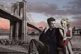 Brooklyn Bridge Poster 高品質プリント : クリス・コンサニ
