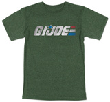 G.I. Joe - Retro Logo (slim fit) Magliette