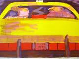 N. Y. Taxi - Rosa Ausgabe Limited Edition by Rainer Fetting
