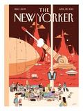 The New Yorker Cover - April 22, 2013 Giclée-Premiumdruck von Luke Pearson