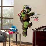 Teenage Mutant Ninja Turtles Raphael Peel & Stick Giant Wall Decals Adesivo de parede