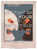 Star Trek Episode 70: Let That Be Your Last Battlefield TV Poster Poster