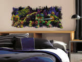 Teenage Mutant Ninja Turtle Trouble Graphix Peel & Stick Wall Decals Adesivo de parede