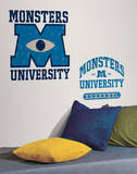 Monsters University Giant Peel & Stick Wall Decals Wall Decal