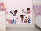 Doc McStuffins Peel & Stick Wall Decals Autocollant mural