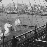 Brooklyn Bridge, New York, USA Fotografie-Druck