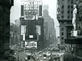 View of Times Square, New York, USA, 1952 Fotografie-Druck