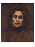 Portrait of a Lady, 1894 Reproduction procédé giclée par Eugene Carriere