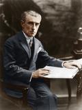 Maurice Ravel, C 1930 Reproduction photographique