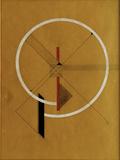 Proun, c.1920-21 Giclee-trykk av El Lissitzky