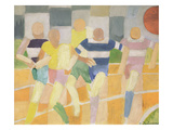 The Runners, c.1924 Giclee-trykk av Robert Delaunay