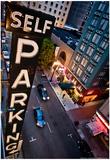 Self Parking Photo Poster Poster par Mike Dillon
