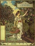 June Giclee Print by Eugene Grasset