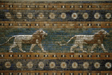 Lions, Ishtar Gate, Babylon Fotografisk tryk